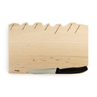 Holzbrettli mit Messer